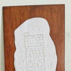 Arte: JOAN SOLÉ I PEDROL (TORREDEMBARRA 1939) PLACA DE TERRACOTA. TARRACO. TARRAGONA. Lote 260525820