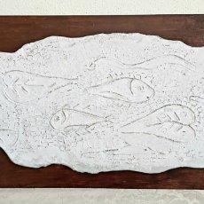 Arte: JOAN SOLÉ I PEDROL (TORREDEMBARRA 1939) PLACA DE TERRACOTA. Lote 260525945