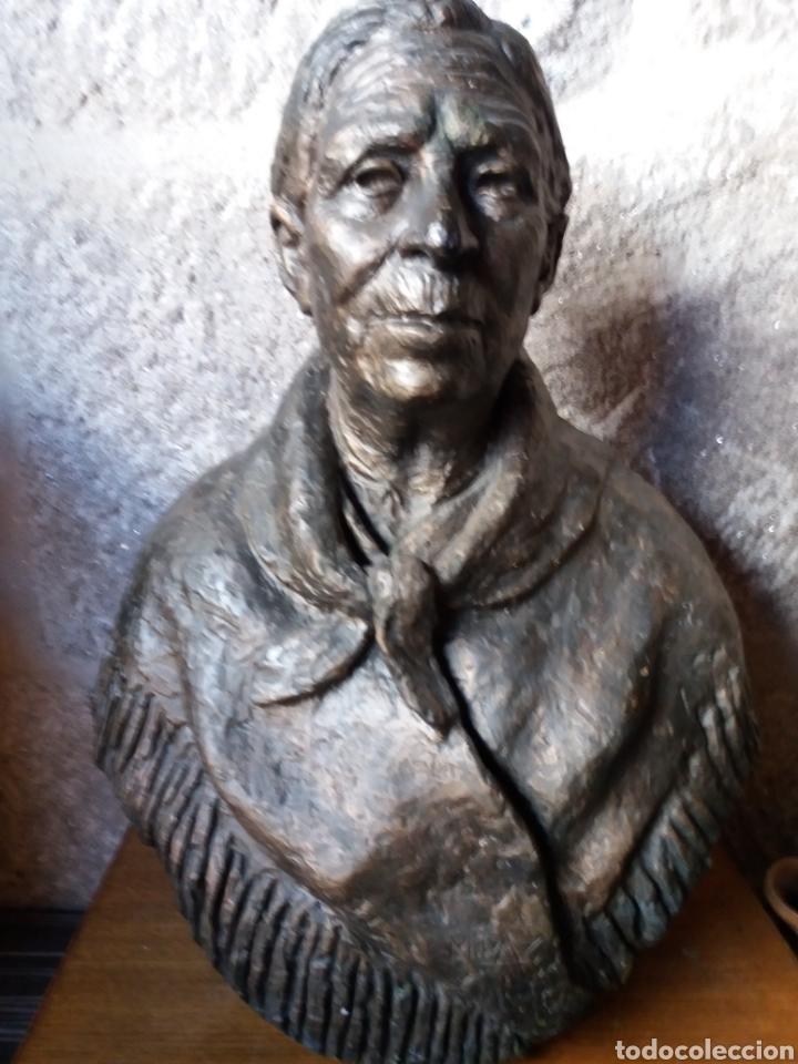ESCULTURA MANOLO PAZ (Arte - Escultura - Terracota )