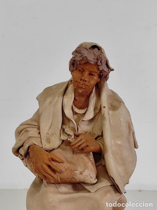 Arte: Francesco Musso (Caltagirone, Sicilia 1942) - Figura Terracota - Foto 7 - 261551065