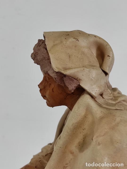 Arte: Francesco Musso (Caltagirone, Sicilia 1942) - Figura Terracota - Foto 14 - 261551065