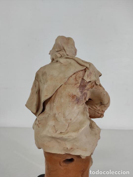 Arte: Francesco Musso (Caltagirone, Sicilia 1942) - Figura Terracota - Foto 17 - 261551065