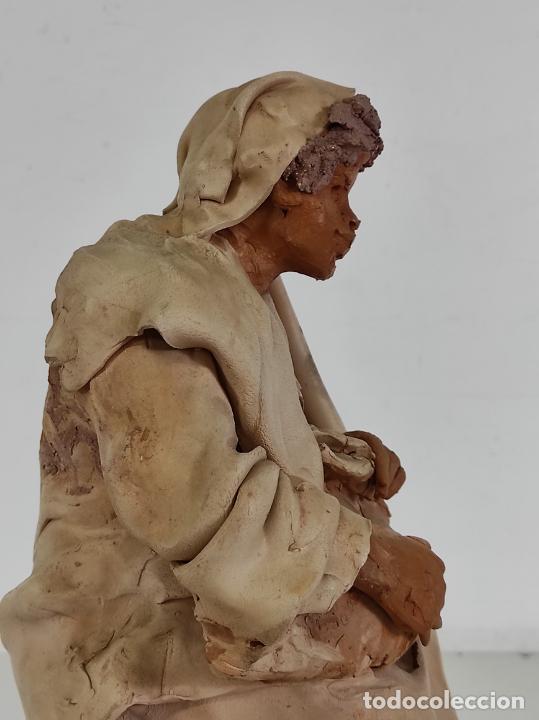 Arte: Francesco Musso (Caltagirone, Sicilia 1942) - Figura Terracota - Foto 23 - 261551065
