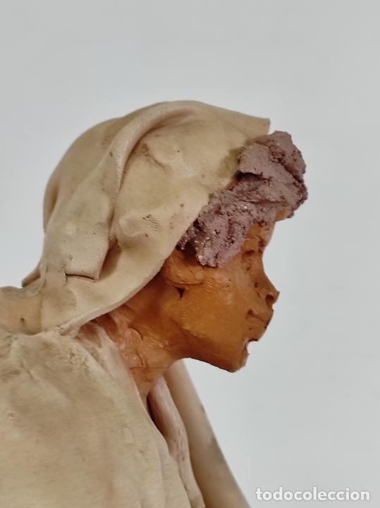 Arte: Francesco Musso (Caltagirone, Sicilia 1942) - Figura Terracota - Foto 24 - 261551065