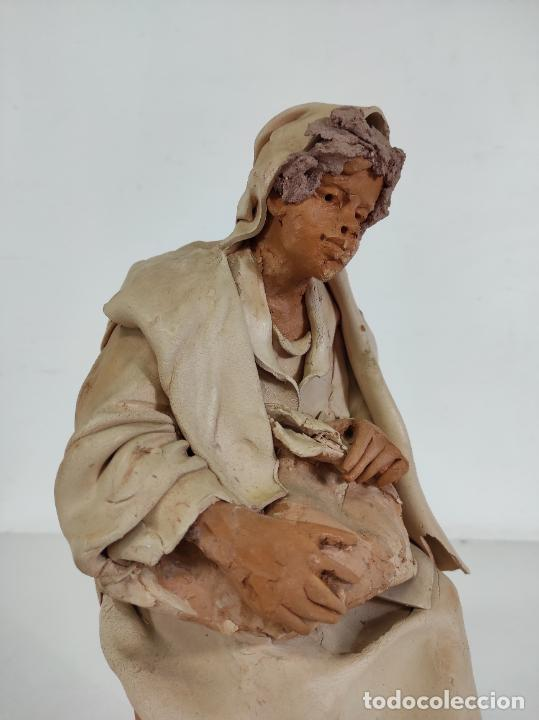 Arte: Francesco Musso (Caltagirone, Sicilia 1942) - Figura Terracota - Foto 26 - 261551065