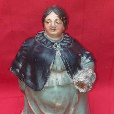 Arte: TABAQUERA DE TERRACOTA DE BUXÓ, OLOT, ALFARERÍA CATALANA, HACIA 1900. Lote 261817445