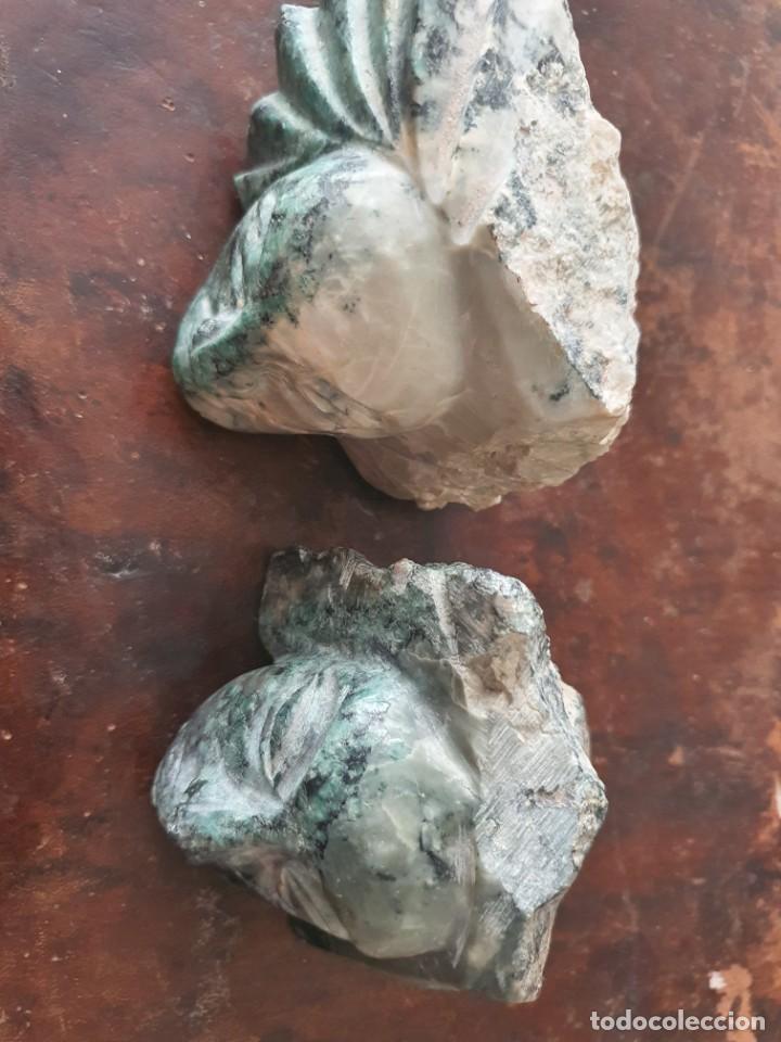PRECIOSAS ESCULTURAS TALLADAS SOBRE PIEDRA (Arte - Escultura - Piedra)
