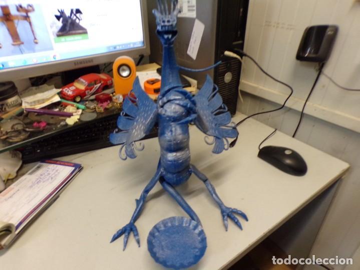 Arte: escultura dragon de buen tamaño de hierro forjado, muy trabajado , 37 cm alto - Foto 18 - 262087915