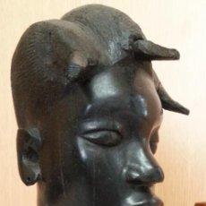 Arte: ESCULTURA EN MADERA. ORIGEN ÁFRICA. AÑOS 2000.. Lote 262368880