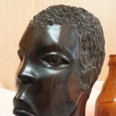 Arte: ESCULTURA EN MADERA. ORIGEN ÁFRICA. AÑOS 2000.. Lote 262370465