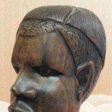 Arte: ESCULTURA EN MADERA. ORIGEN ÁFRICA. AÑOS 2000.. Lote 262372880