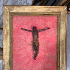 Arte: MAGNIFICO CRISTO TALLADO ANTIGUO S. XVII. Lote 262646550