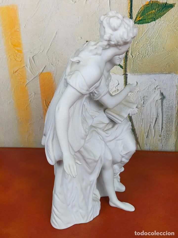 Arte: Figura Porcelana Biscuit- Alonso Cebreros 24 CM - Foto 3 - 264226456