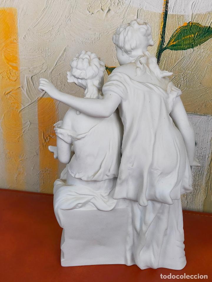 Arte: Figura Porcelana Biscuit- Alonso Cebreros 24 CM - Foto 4 - 264226456