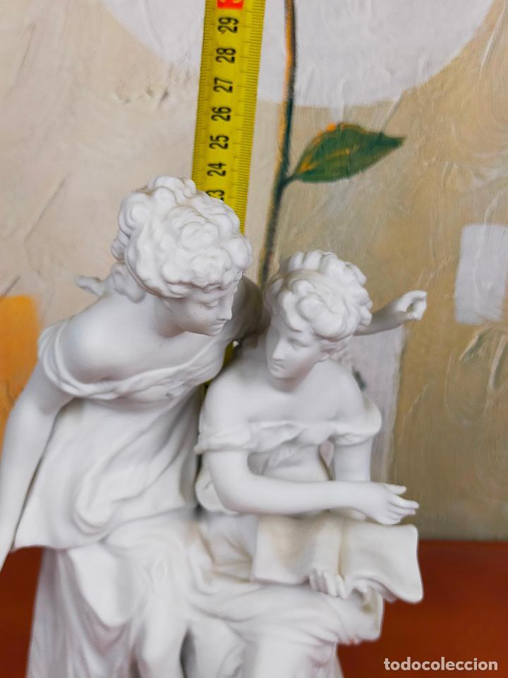 Arte: Figura Porcelana Biscuit- Alonso Cebreros 24 CM - Foto 6 - 264226456