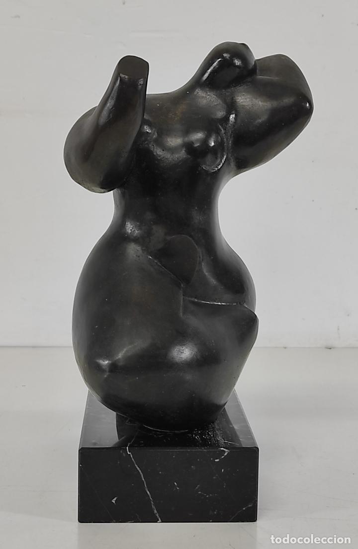 Arte: Escultura en Bronce - Dani Buch (Sant Gregori 1976) - Numerada 1 de 6 - Foto 2 - 265185359
