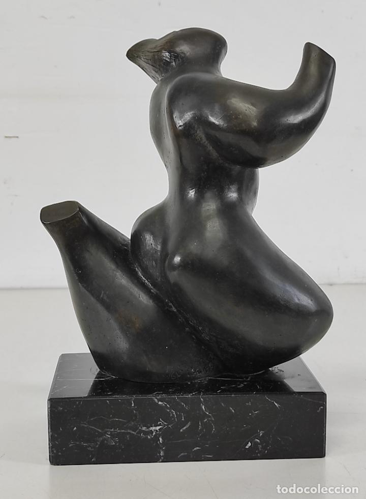 Arte: Escultura en Bronce - Dani Buch (Sant Gregori 1976) - Numerada 1 de 6 - Foto 4 - 265185359