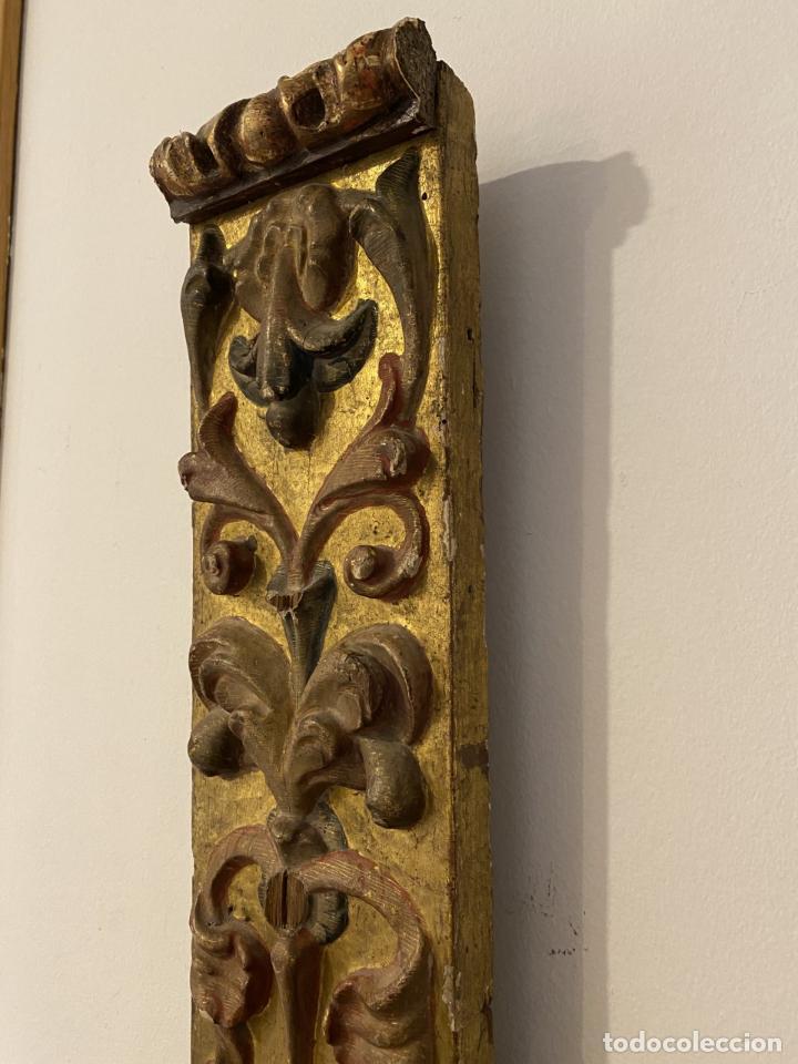 Arte: Pilastra, renacimiento, segunda mitad del siglo XVI. - Foto 5 - 267092364