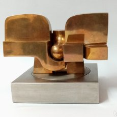 Art: ESCULTURA DE JOSE LUIS SANCHEZ, ARTE ABSTRACTO MODERNISTA. Lote 267404769