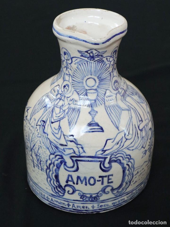 Arte: Martín Cifre (Palma de Mallorca 1940-2009). Jarra de cerámica esmaltada. Firmada. Mide 29 cm. - Foto 10 - 269004629