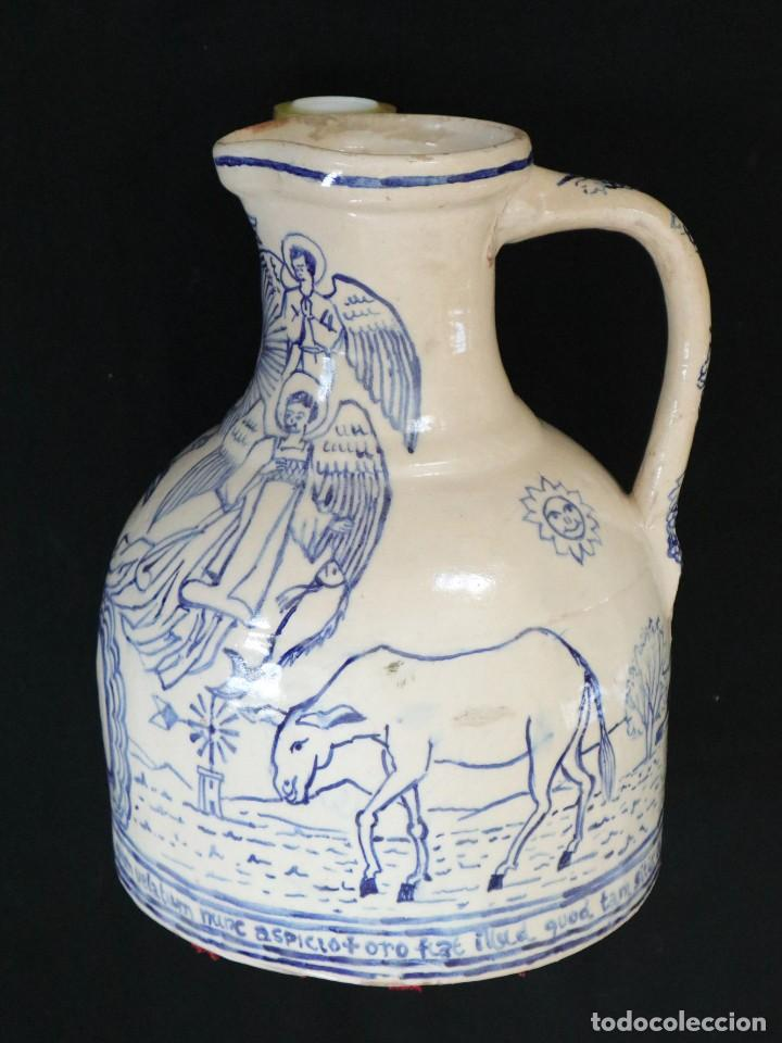 Arte: Martín Cifre (Palma de Mallorca 1940-2009). Jarra de cerámica esmaltada. Firmada. Mide 29 cm. - Foto 13 - 269004629
