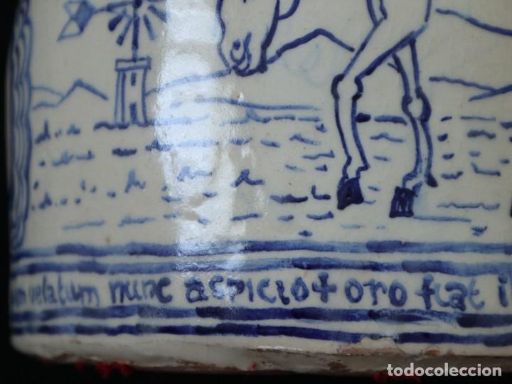 Arte: Martín Cifre (Palma de Mallorca 1940-2009). Jarra de cerámica esmaltada. Firmada. Mide 29 cm. - Foto 14 - 269004629