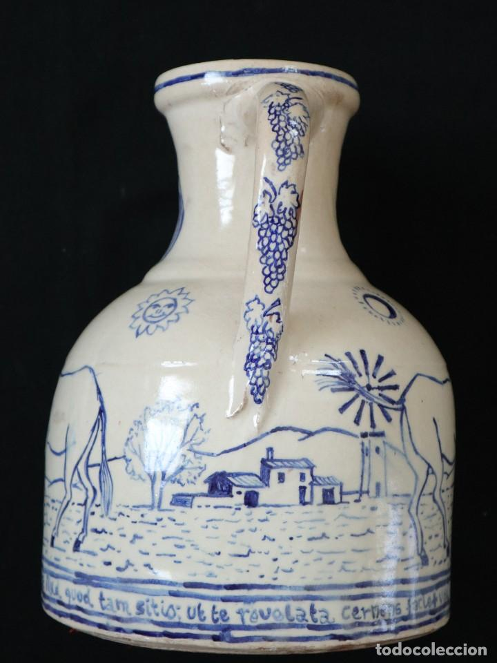 Arte: Martín Cifre (Palma de Mallorca 1940-2009). Jarra de cerámica esmaltada. Firmada. Mide 29 cm. - Foto 15 - 269004629