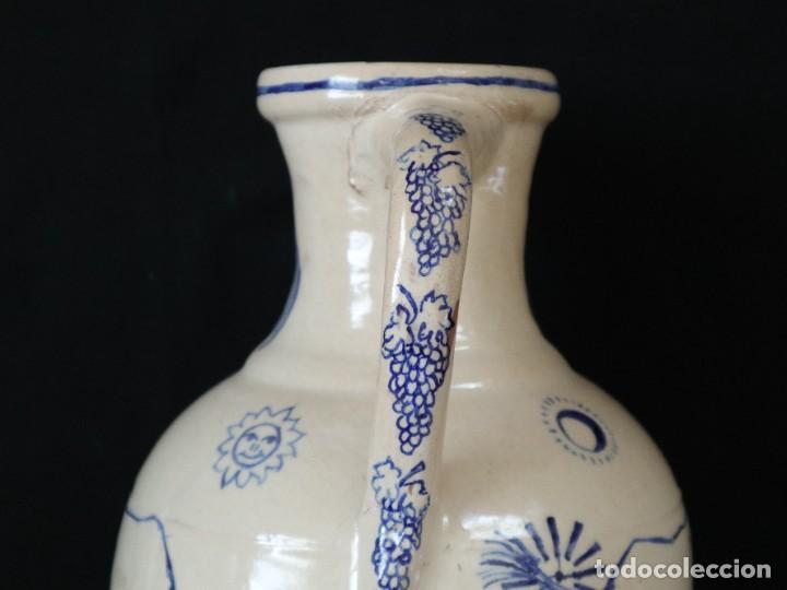 Arte: Martín Cifre (Palma de Mallorca 1940-2009). Jarra de cerámica esmaltada. Firmada. Mide 29 cm. - Foto 16 - 269004629