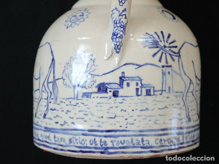Arte: Martín Cifre (Palma de Mallorca 1940-2009). Jarra de cerámica esmaltada. Firmada. Mide 29 cm. - Foto 17 - 269004629