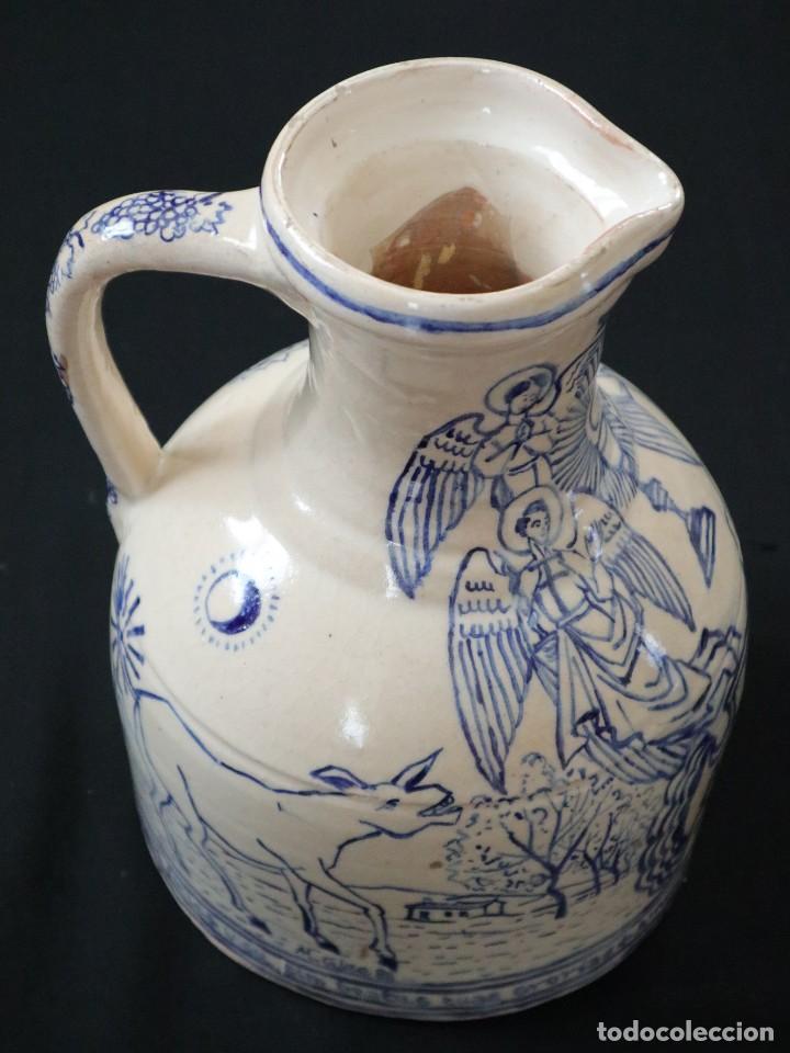 Arte: Martín Cifre (Palma de Mallorca 1940-2009). Jarra de cerámica esmaltada. Firmada. Mide 29 cm. - Foto 18 - 269004629