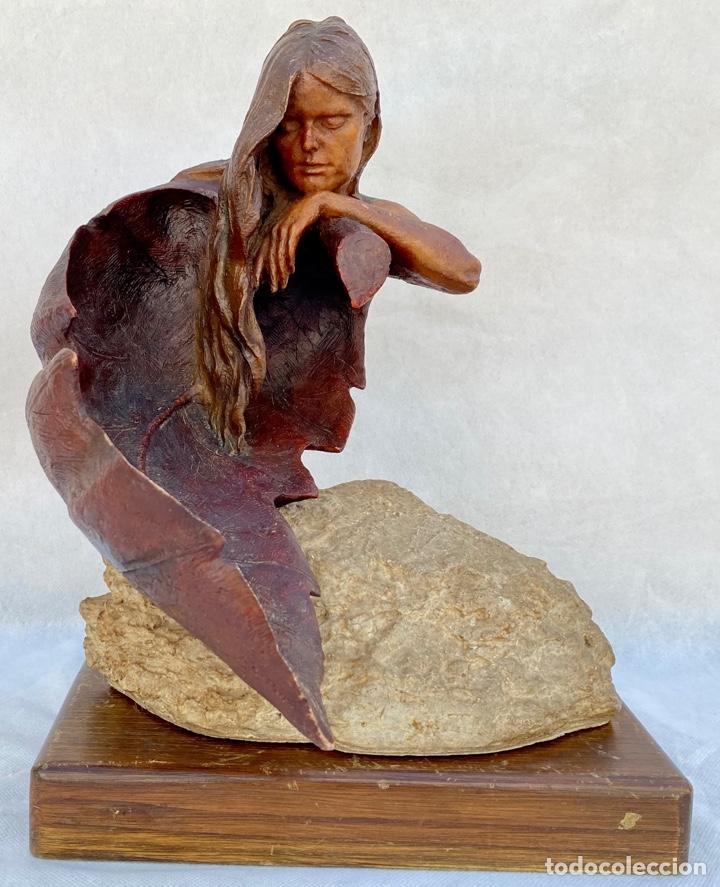 JOSEP BOFILL. ESCULTURA OTOÑO JOSEP BOFILL (Arte - Escultura - Resina)