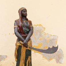 Arte: ESTATUA DE JUDITH, 115 CM, SEGÚN EMMANUEL VILLANIS (FRANCÉS). Lote 226805230