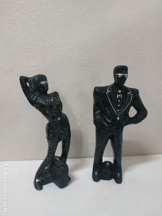 Arte: FIGURAS DE porcelana PURPURINA HOMBRE y mujerPRECIOSAS FIGURAS DE ESCAYOLA - PURPURINA - HOMBRE Y MU - Foto 4 - 271421573