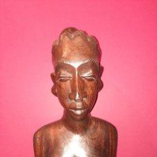 Arte: ARTE AFRICANO, TALLA EN MADERA. Lote 271876323
