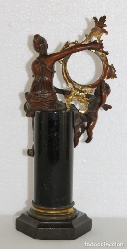 Arte: Hans Guradze (1861-1922) - Escultura en bronce con base de mármol art nouveau firmada y fechada - Foto 9 - 272182583