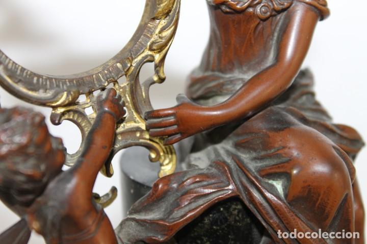 Arte: Hans Guradze (1861-1922) - Escultura en bronce con base de mármol art nouveau firmada y fechada - Foto 14 - 272182583