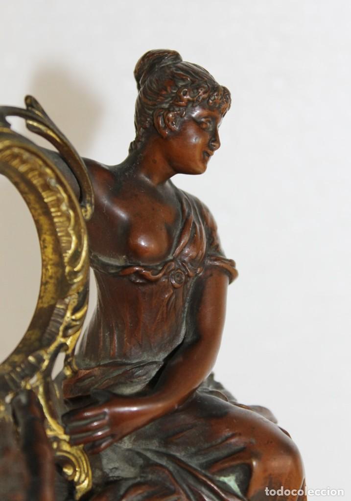 Arte: Hans Guradze (1861-1922) - Escultura en bronce con base de mármol art nouveau firmada y fechada - Foto 16 - 272182583