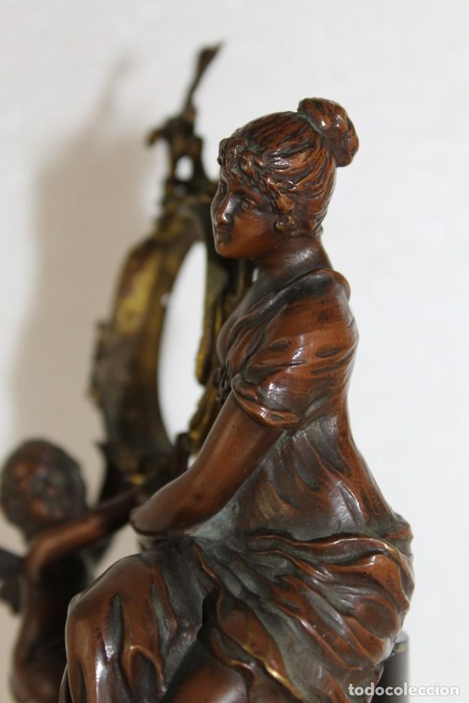 Arte: Hans Guradze (1861-1922) - Escultura en bronce con base de mármol art nouveau firmada y fechada - Foto 17 - 272182583