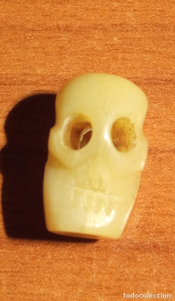 Arte: Calavera tallada en hueso - Foto 2 - 272302943