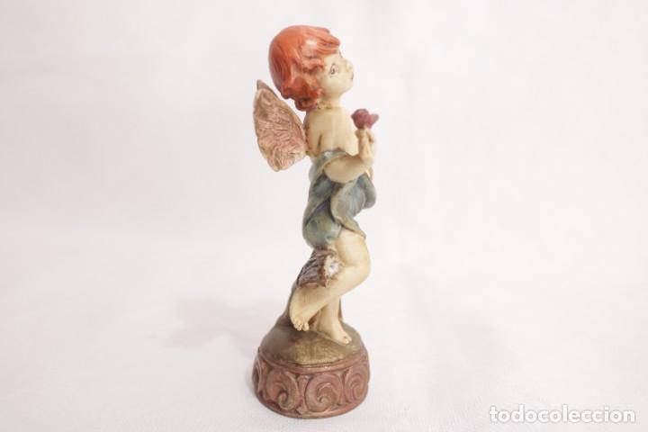 Arte: Bonita escultura de un querubín ángel griego - Foto 4 - 272481593