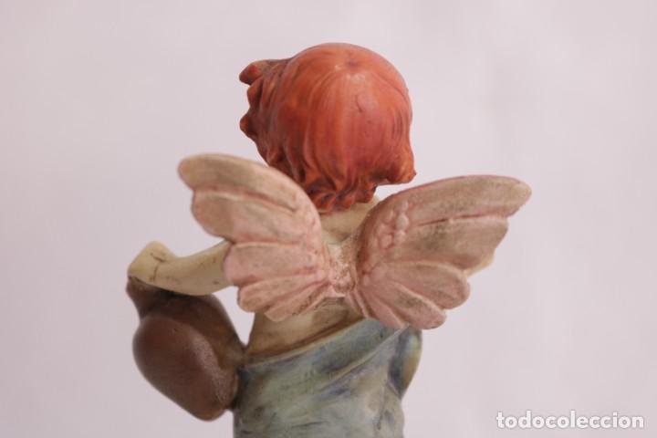 Arte: Bonita escultura de un querubín ángel griego - Foto 8 - 272481593