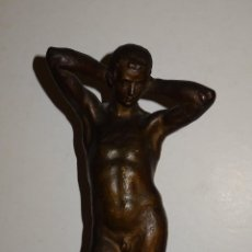 Arte: (M) ESCULTURA DE TERRACOTA FIRMADO S COSTA - SANTIAGO COSTA VAQUÉ - MORA D'EBRE 1895 / 1984. Lote 273975668