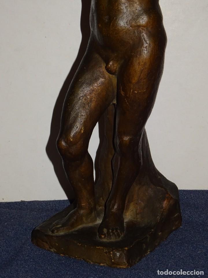Arte: (M) ESCULTURA DE TERRACOTA FIRMADO S COSTA - SANTIAGO COSTA VAQUÉ - MORA DEBRE 1895 / 1984 - Foto 4 - 273975668