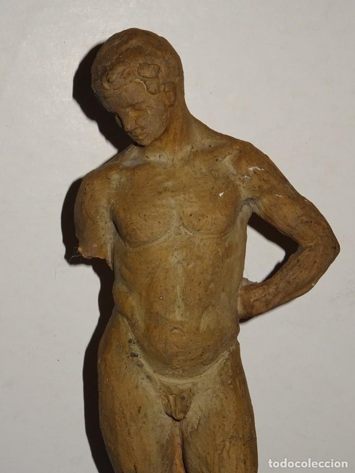 (M) ESCULTURA DE TERRACOTA FIRMADO S COSTA - SANTIAGO COSTA VAQUÉ - MORA D'EBRE 1895 / 1984 (Arte - Escultura - Terracota )