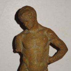 Arte: (M) ESCULTURA DE TERRACOTA FIRMADO S COSTA - SANTIAGO COSTA VAQUÉ - MORA D'EBRE 1895 / 1984. Lote 273976223