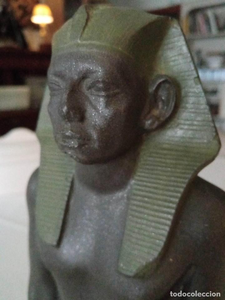 Arte: Escultura reproducción de Amenemhat III - Foto 2 - 273988368