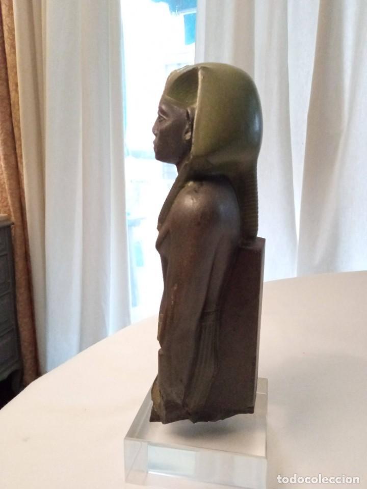 Arte: Escultura reproducción de Amenemhat III - Foto 3 - 273988368