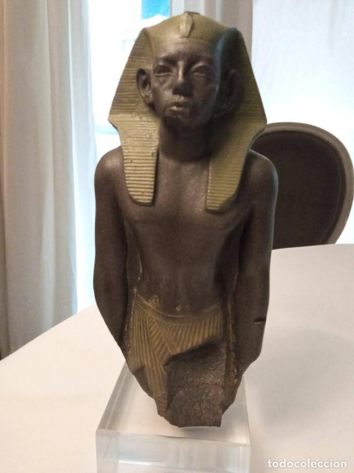 Arte: Escultura reproducción de Amenemhat III - Foto 4 - 273988368