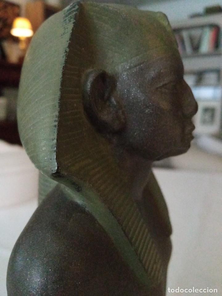 Arte: Escultura reproducción de Amenemhat III - Foto 5 - 273988368