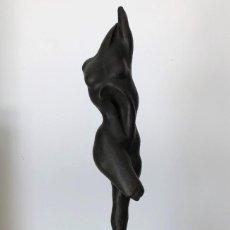 Arte: MIGUEL MORENO ROMERA ( 1935, GRANADA ) - ESCULTURA EN HOMENAJE A FALLA. Lote 275595458